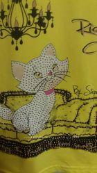 Реглан-блуза фирменный 122 оч. красивый идеальное состояние