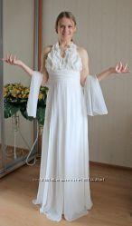 Вечернее выпускное свадебное платье