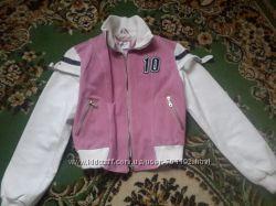 Стильная спортивная кожаная куртка Италия
