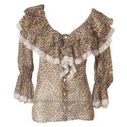 Блуза Patrizia Pepe леопардовый  принт оригинал