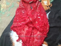 Шикарный платок ручной работы Blumarine оригинал эксклюзив