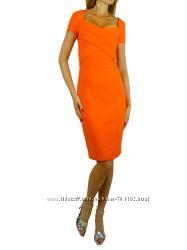 Красивое платье Blumarine оригинал апельсинового цвета
