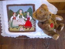 коллекционный винтажный мишка Hermann