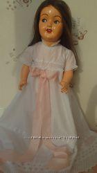 крестильное платье для большой куклы