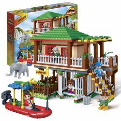Конструкторы Banbao Сафари 248, 303, 456 деталей детям от 5 лет