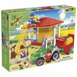 Конструкторы Banbao Ферма, 185, 448, 590 деталей детям от 5 лет
