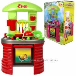 Кухня с посудой Kinderway Ева арт. 04-403 404, 405 девочкам от 3 лет