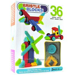 Конструктор-бристл- Bristle Blocks- Строитель 36, 56, 112, Джунгли, Семья