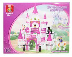 Конструкторы Sluban Розовая мечта M38-B0151, Замок Принцессы M38-B0251