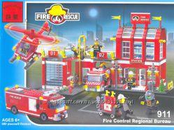 Конструктор   BRICK Пожарная охрана арт. 911