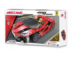 Конструктор метал. Meccano автомобиль Ferrari GTB 488 Roadster, от10 л, 305
