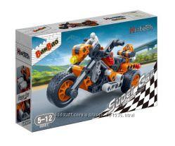 Конструктор BANBAO Мотоцикл, арт. 6961, 118 дет. , от 5 лет