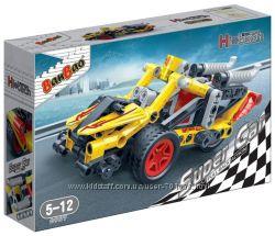 Конструктор BANBAO Машина гоночна, арт 6967, 108дет. , от 5 лет