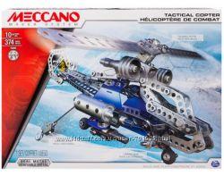Конструктор металлический Meccano Вертолет, 374 дет. , от 10 лет