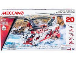Конструктор метал. 20 авиамоделей Meccano Spin Master, 406 дет, от 8 лет