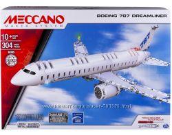 Конструктор металлический Meccano Boeing 787, 304 дет. , от 10 лет