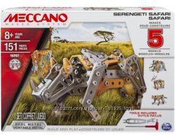 Конструктор Meccano Сафари 5 моделей, 151 дет. , от 8 лет