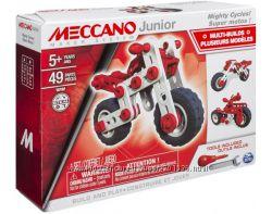 Конструктор мотоцикл Meccano Junior Spin Master, 49 дет, от 5 лет