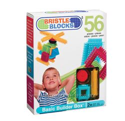 Лучший игольчатый Конструктор BATTAT Bristle Blocks Строитель, 56 деталей,