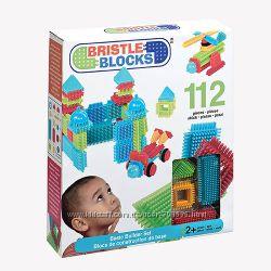 Лучший игольчатый Конструктор BATTAT Bristle Blocks Строитель, 112 деталей
