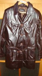 Кожаная куртка 44раз