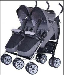 Прогулочная коляска трость для двойни EasyGo Сomfort Duo ИзиГоу