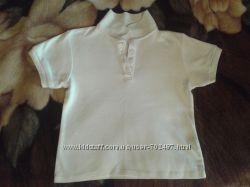 Белая поло-рубашка с коротким рукавом фирмы  Arizona