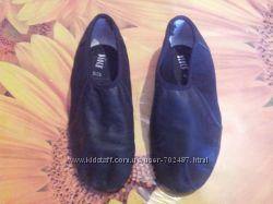 Коженые джасовки обувь для танцев, чешки размер 29