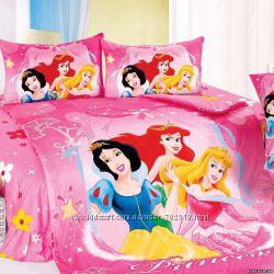 Детское постельное Сатин 3D LOVE YOU. Элитное постельное белье