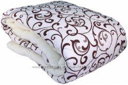 Одеяла евро шерсть, холлофайбер, бамбук, хлопок, пухперо