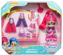 Куколка Шиммер с нарядами Fisher-Price Shimmer and Shine