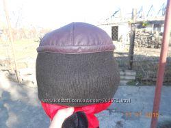 Кожаная шапка, повязки