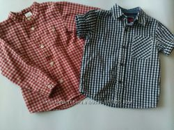 Рубашки Zara и Next для мальчика на 3 года