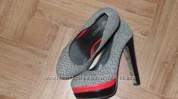 Моднявые туфельки р 38 идальное сост стелька 24. 5см