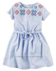Carters платье девочке 4Т