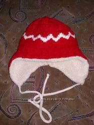 Зимняя шапка на объем 48-52