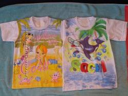 Новые футболки на рост 110-128