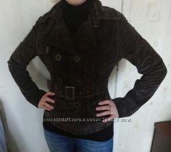 Замшевый пиджак-куртка