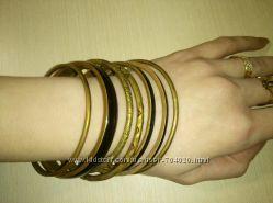 Металические круглые браслеты