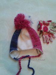 Зимняя польская шапка Loman на 7-10лет.