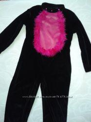 Комбинезон - костюм кошки Tesco на 7-8лет р. 128-134