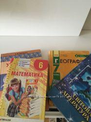 учебники 3 4  6  7 класс и другая школьная литература