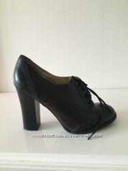 туфли ботинки ботильоны новые размер 36 37 кожа фирма Rocha