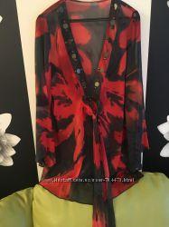 туника пляжное платье размер 48 50 52 идеальное состояние  очень красиво