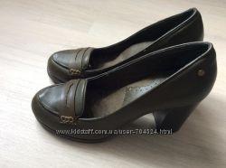 Новые кожаные туфли G. H. Bass&Co. , Америка