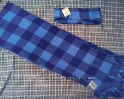 Америка Флисовый набор шарф и повязка