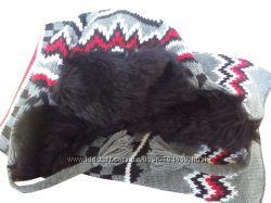 H&M Комплект шапка  шарф на мальчика р-р 9-10 лет окружность 52-54 см