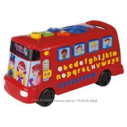 Vtech Tesco Музыкальный и обучающий автобус английский