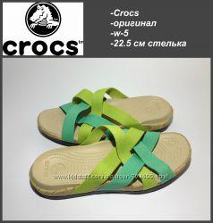 Crocs w-5 22, 5 см стелька  оригинал  сост. новых