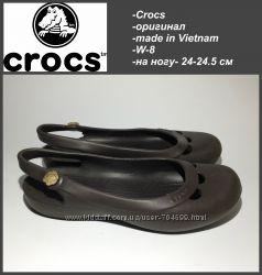 Crocs оригинал W-8 24 -24. 5 см